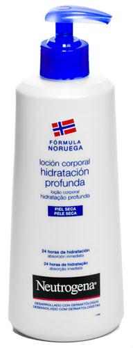 LOCION CORPORAL PIEL SECA neutrogena formula noruega hidratacion profunda (400 ml)