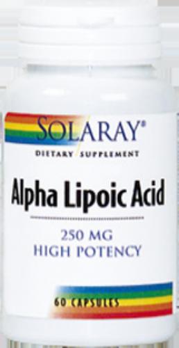 SOLARAY ALPHA LIPOIC ACID 250MG60C