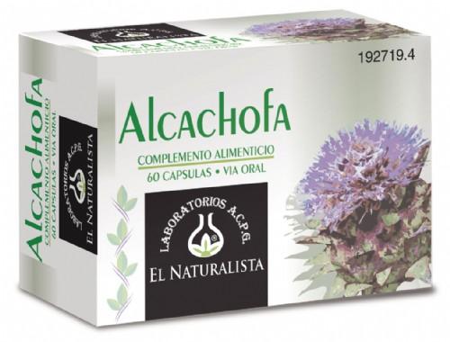 ALCACHOFA EL NATURALISTA 60 CAPS
