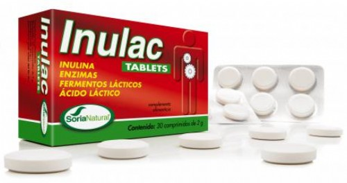Soria Natural Inulac 30 tabletas