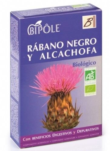 Bipole rábano negro y alcachofa 20amp
