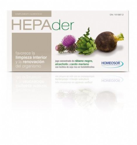 Soria Natural Hepader 14 viales