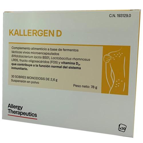 Kallergen d (30 sobres)