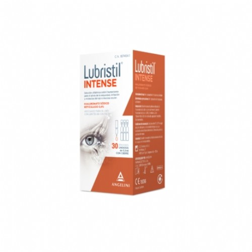 Lubristil Intese 30 Unidosis solución oftálmica esteril