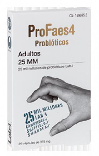 PROFAES4 PROBIOTICO ADULTOS  25 MM (MILMILLONES) - 30 CAPSULAS