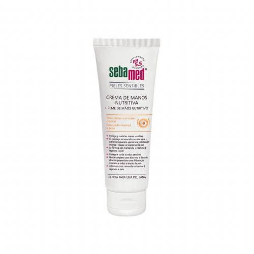 Sebamed crema de manos nutritiva (75 ml)