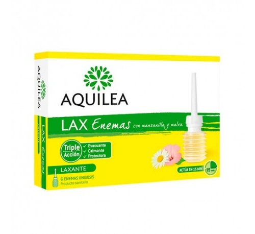 AQUILEA LAX ENEMA (6 ENEMAS)