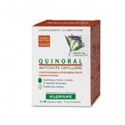 klorane quinoral (30 caps 2 envases)