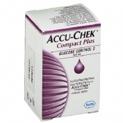 ACCU-CHEK COMPACT CONTROL solucion control glucosa