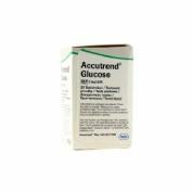 ACCUTREND GLUCOSA tiras reactivas glucemia (25 tiras)