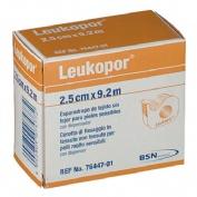 LEUKOPOR esparadrapo hipoalergico (papel 2,5 x 9,2 m dispensador)