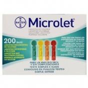 Microlet de colores lancetas (25 u)