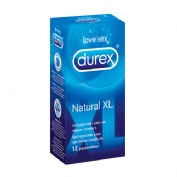 PRESERVATIVOS durex natural xl (12 u)