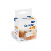OMNIPOR esparadrapo hipoalergico (de papel 5 m x 2,5 cm con dispensador)