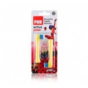 PHB ACTIVE JUNIOR cepillo dental electrico (2u recambio cabezal)