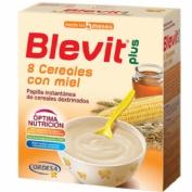Blevit plus 8 cereales con miel (1 envase 600 g)