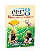 Cer 8-24 parches antimosquitos
