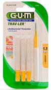 GUM 1514 TRAV-LER cepillo interdental viaje (extrafino 1.3 mm conico 6u)