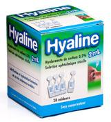 hyaline solucion oftalmica esteril (2 ml 28 monodosis)