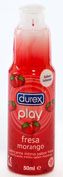 LUBRICANTE HIDROSOLUBLE INTIMO durex play fresa  pleasure gel (50 ml)