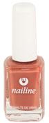 nailine esmalte de uñas basic colours (11 ml n- 06 marron teja)