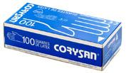 CORYSAN guantes latex (t- med 100 u)