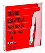 JOYA CIERRE VELCRO cubre escayola (brazo largo)