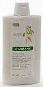 klorane champu extrasuave a la leche de avena (400 ml)