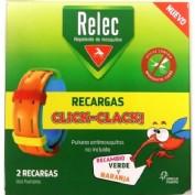 relec pulsera repelente clik-clack recambio