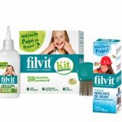 Filvit protector repelente de piojos (125 ml) + FILVIT KIT DIMETICONA