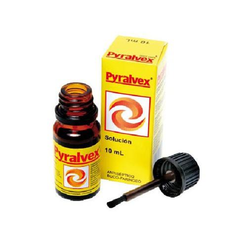 PYRALVEX solucion 10 ml