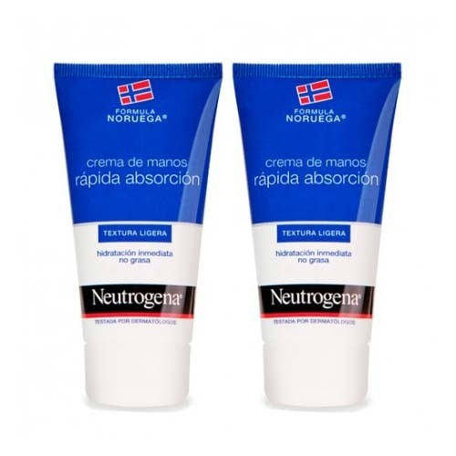 neutrogena crema de manos rapida absorcion (75 ml 2 unidades)