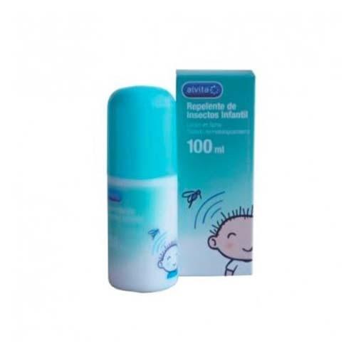 alvita locion infantil repelente de insectos (spray 150 ml)