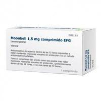 MOONBELL 1,5 MG COMPRIMIDOS EFG , 1 comprimido