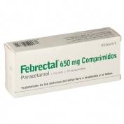 FEBRECTAL 650 mg COMPRIMIDOS , 20 comprimidos
