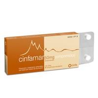 CINFAMAR 50 mg COMPRIMIDOS RECUBIERTOS , 4 comprimidos