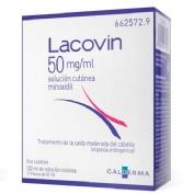 LACOVIN 50 mg/ml SOLUCIÓN CUTÁNEA , 2 frascos de 60 ml