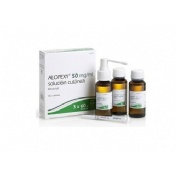ALOPEXY 50 mg/ml SOLUCION CUTANEA , 3 frascos de 60 ml (PET)